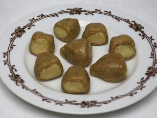 Marcipánové trojúhelníčky biberle