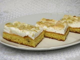 Sladký sněhový koláč