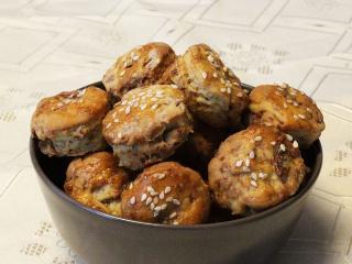 Ořechově škvarkové pagáčky