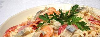 Rybí saláty
