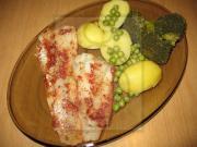 Filet z aljašské tresky na páře