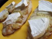 Kuřecí prsa se sýrem s bílou plísní