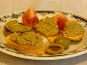 Olivové crostini