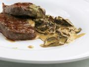 Steaková omáčka s houbami