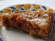 Karamelovo-nektarinkový obrácený koláč