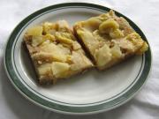 Cuketovo- jablečný koláč