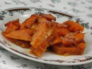 Zapečený sladký brambor s dýní hokaido