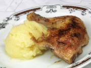 Pečené kuře s kaší