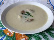 Jemná hlívová polévka