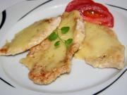 Kuřecí prsa zapečená se sýrem a smetanou