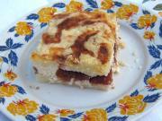 Tvarohový sypaný koláč