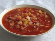Zelno-rajčatová polévka