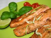 ActiFry marinovaný losos