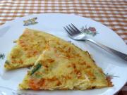 Bramborovo-zeleninová omeleta pro děti