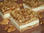 Medové řezy s ořechovým griliášem