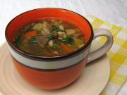 Hlívová polévka se strouháním