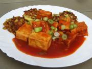 Tofu v rajčatové omáčce