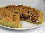 Švestkový koláč se stévií