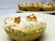Jablečné muffiny s medem a stévií