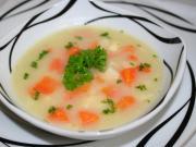 Hustá celerová polévka