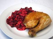 Pečené česnekové kuře