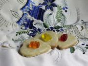 Mandarinková linecká srdíčka
