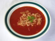 Rajská polévka s quinoou