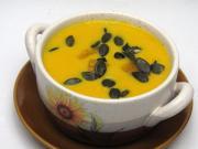Smetanová Hokkaido polévka