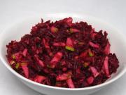 Salát z červené řepy s hruškami