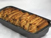 Skořicový plátkový chlebíček