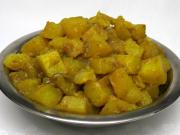Kurkumové brambory