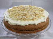Jablečno-ořechový dort