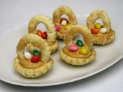 Karamelové velikonoční košíčky