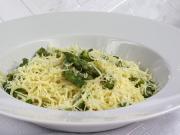 Špagety s chřestem