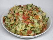 Křupavý zeleninový salát