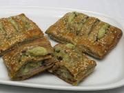 Slané koláčky z cereálního listového těsta