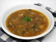 Hlívová polévka s česnekem
