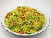 Basmati rýže se zeleninou