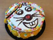 Veselý velikonoční dort Zajíček