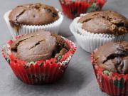 Kakaové muffiny s čokoládou