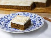 Jemný dýňový koláč se skyrem
