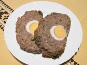 Vepřovo-hovězí sekaná s vejcem
