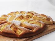 Propadávaný jablkový koláč