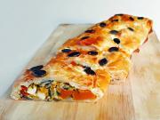 Štrúdl plněný dýní a balkánským sýrem
