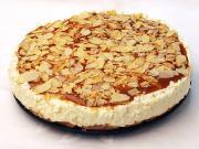 Nepečený karamelový cheesecake